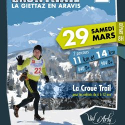 Aravis Snow trail