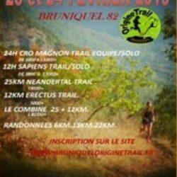 Bruniquel Origine trail