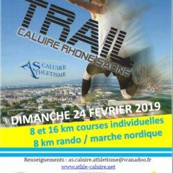 Trail Caluire Rhône Saône