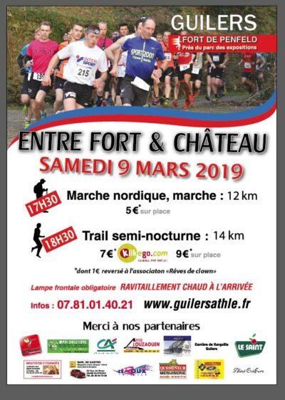 Trail Entre Fort et Chateau