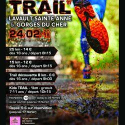 Trail de Lavault Sainte Anne et des Gorges du Cher