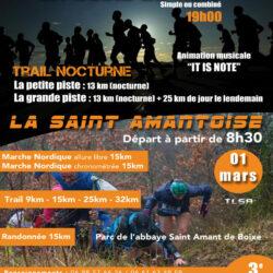 Trail La Saint Amantoise