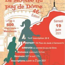La montée du Puy de Dôme - Course de la Saint Jean