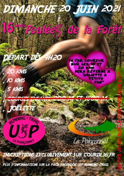 Les foulées de la forêt - Le Poinconnet