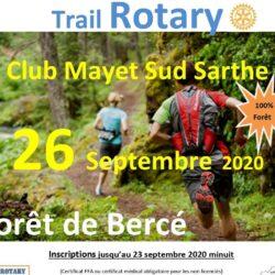 Trail rotary Mayet sud sarthe