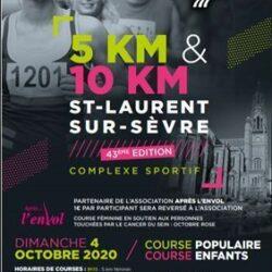 Tour pédestre de Saint Laurent sur Sèvre